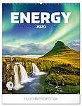 Energie 2019, nástěnný kalendář, prodloužená záda