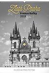Zlatá Praha Franze Kafky 2019, nástěnný kalendář, prodloužená záda