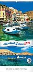 Zaostřeno na Řecko 2019, nástěnný kalendář, prodloužená záda