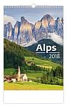 Alps 2018, nástěnný kalendář