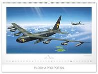 Aeroplanes - Jaroslav Velc 2019, nástěnný kalendář, prodloužená záda