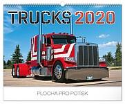 Trucks 2019, nástěnný kalendář, prodloužená záda