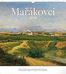 Mařákovci 2019, nástěnný kalendář, prodloužená záda