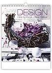 Live Design 2019, nástěnný kalendář, prodloužená záda