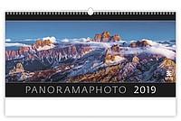 Panoramaphoto 2019, nástěnný kalendář, prodloužená záda