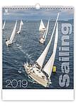 Sailing 2019, nástěnný kalendář, prodloužená záda