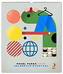 Celebrate Everyday Pavel Fuksa 2020, nástěnný kalendář