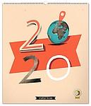 Okamžiky historie - Dominik Miklušák 2020, nástěnný kalendář