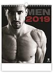 Men2019, nástěnný kalendář, prodloužená záda