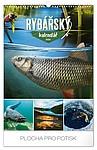 Rybářský kalendář 2020, nástěnný kalendář, prodloužená záda
