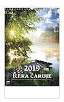 Řeka čaruje 2019, nástěnný kalendář, prodloužená záda