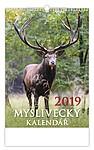 Myslivecký kalendář 2019, nástěnný kalendář, prodloužená záda