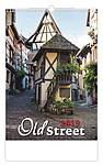 Old street 2019, nástěnný kalendář, prodloužená záda