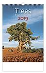 Stromy 2019, nástěnný kalendář, prodloužená záda