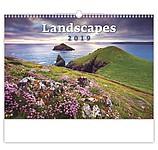 Landscapes 2019, nástěnný kalendář, prodloužená záda