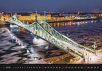 Bridges 2019, nástěnný kalendář, prodloužená záda