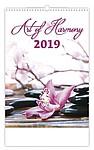 Art of Harmony 2019, nástěnný kalendář, prodloužená záda