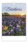 Nature Emotions 2019, nástěnný kalendář, prodloužená záda