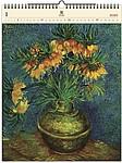 Vincent 2020, dřevěný nástěnný kalendář