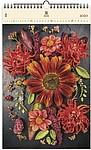 Flowers 2020, dřevěný nástěnný kalendář