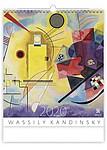 Wassily Kandinsky 2020, nástěnný kalendář, prodloužená záda