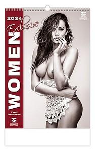 Women Exclusive 2021, nástěnný kalendář, prodloužená záda