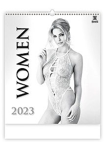 Women 2021, nástěnný kalendář, prodloužená záda