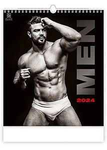 Men 2020, nástěnný kalendář, prodloužená záda