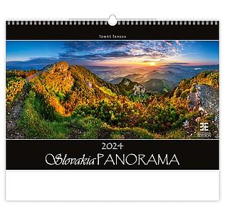 Tatry Panorama 2021, nástěnný kalendář, prodloužená záda