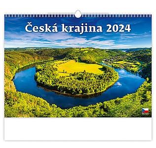Putování po Česku 2021, nástěnný kalendář, prodloužená záda