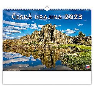 Česká krajina 2020, nástěnný kalendář, prodloužená záda