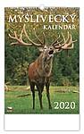 Myslivecký kalendář 2020, nástěnný kalendář, prodloužená záda