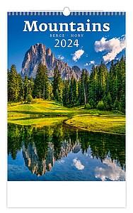 Hory 2021, nástěnný kalendář, prodloužená záda