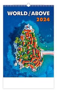 World in Colours 2020, nástěnný kalendář, prodloužená záda