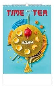 Postcard from... 2020, nástěnný kalendář, prodloužená záda