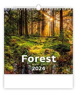 Aqua 2020, nástěnný kalendář, prodloužená záda