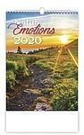 Nature Emotions 2020, nástěnný kalendář, prodloužená záda