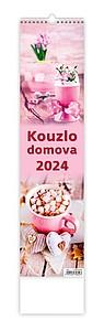 Kouzlo domova 2020, nástěnný kalendář, prodloužená záda