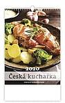 Česká nástěnná kuchařka 2020, nástěnný kalendář, prodloužená záda