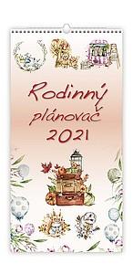 Rodinný plánovač 2020, nástěnný kalendář