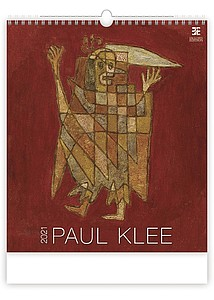 Paul Klee 2021, nástěnný kalendář, prodloužená záda