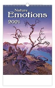 Nature Emotions 2021, nástěnný kalendář, prodloužená záda