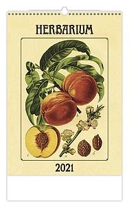 Herbarium 2021, nástěnný kalendář, prodloužená záda