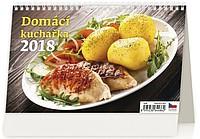 Domácí kuchařka 2018, stolní kalendář