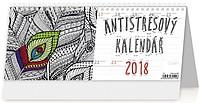Antistresový pracovní kalendář 2018, stolní kalendář