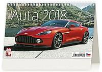 Auta 2018, stolní kalendář