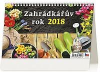 Zahrádkářův rok 2018, stolní kalendář