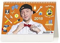 Vychytávky Ládi Hrušky 2018, stolní kalendář