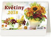 Květiny 2018, stolní kalendář