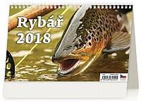 Rybář 2018, stolní kalendář